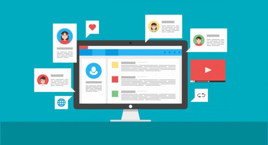 Blog Empresarial: Distribuição em redes sociais