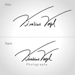 Redesign de Logo Vinicius Vogel
