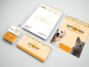 Desenvolvimento de Marca e Branding – Vet Vem Atendimento Veterinário Domiciliar