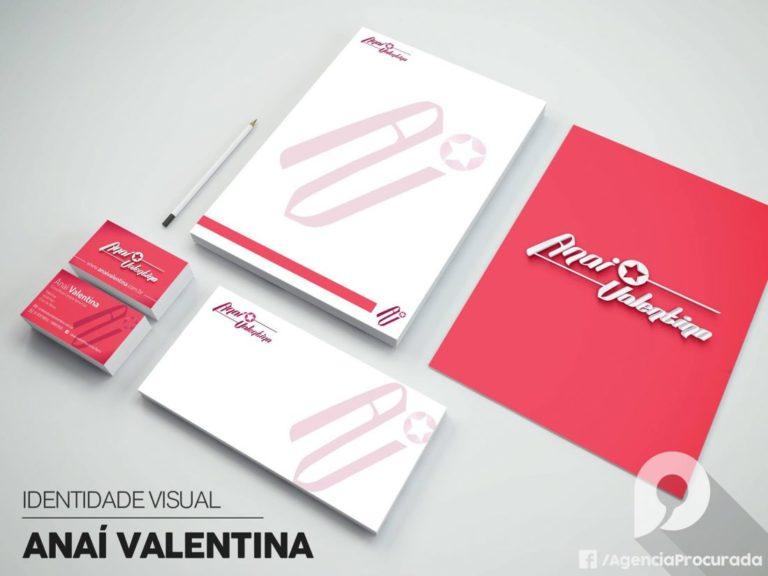 Identidade Visual Da Anaí Valentina