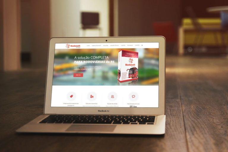Web site Rodosoft